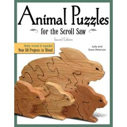 Animal Puzzles For The Scroll Saw 50 Projects in Wood