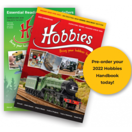 PRE-ORDER 2022 Hobbies Handbook Catalogue