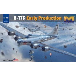 HK Models B-17G Flying Fortress Early Production 1/48th