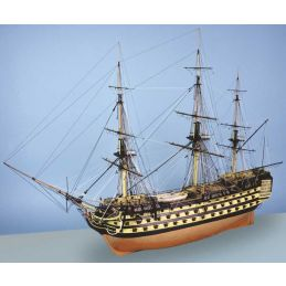 Caldercraft HMS Victory 1:72 Scale Wooden Model Ship Kit - A truly magnificent model