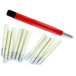 Hobbies Glass Fibre Brush Plus 10 Refills