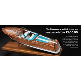 Amati Riva Aquarama Kit and Motor & Transmission Set Deal
