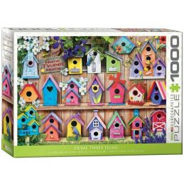 Eurographics Home Tweet Home 1000 Piece Jigsaw