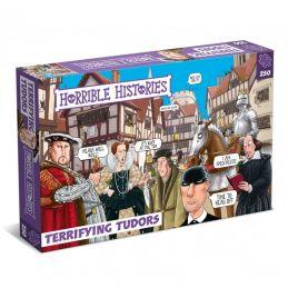 Horrible Histories Terrifying Tudors 250 Piece Jigsaw