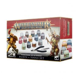 Warhammer Age of Sigmar: Paint and Tools Set
