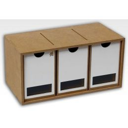 Hobbyzone 3 Drawers Module Crafts Workshop Modular System - NEW