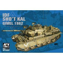 AFV Club Israeli Defence Force Sho't Kal Gimel Tank With Blazer Explosive Reactive Armour 1:35 Scale - Afv Club Idf Sho't Kal Gimel