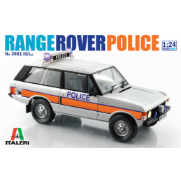 Italeri Range Rover UK Police Car Kit