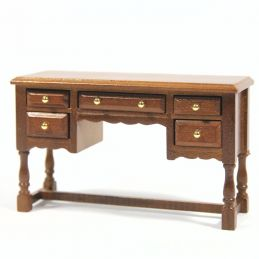 12th Scale Oak Dressing Table