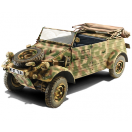 Italeri Kubelwagen KDF.1 Typ 82 1:9 Scale Model Car Kit