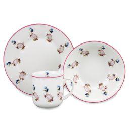 Jemima Puddleduck 3 Piece Porcelain Breakfast Set The World of Beatrix Potter