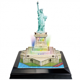 CubicFun L505H Statue of Liberty with LED Light 3D Puzzle
