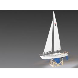 Comtesse Sailing Yacht Kit with Fittings Set