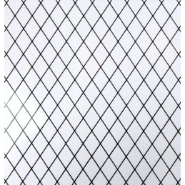 Diamond Lattice Lead Light Acrylic A4 Sheet for Dolls House Windows