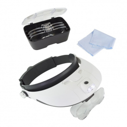 Lightcraft Pro LED Headband Magnifier