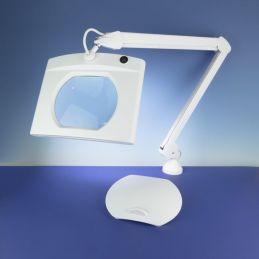 LED Rectangular Magnifier Lamp