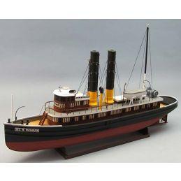 Dumas The George W Washburn 1:48 Scale RC Model Boat Kit