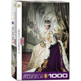 Eurographics Queen Elizabeth II 1000 Piece Jigsaw