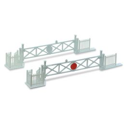 Peco Level Crossing Gates (4) with Wicket Gates and Fencing