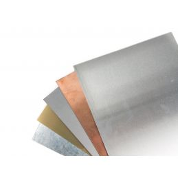 Albion Alloys Metal Sheets 100 x 250mm