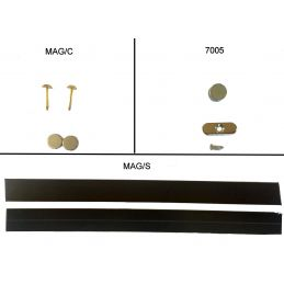 Magnetic Strip, Discs and Closures - Magnets & Pin Closure Set