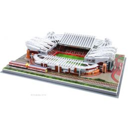 3D Replica Manchester United Football Club Old Trafford Stadium Easyfit Model 395 x 290 x90mm