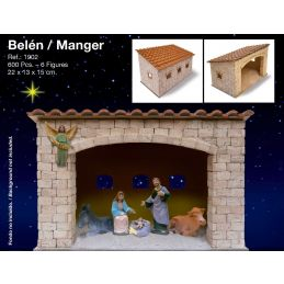 Aedes Ars Manger with Figures Brick Kit