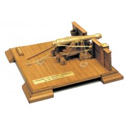 Mantua Models French 36lb Naval Gun 18th Century Kit