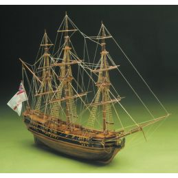 Mantua President English Frigate 1750 Period 1:60 Scale Wooden Model Boat Ship