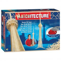 Matchitecture Toronto CN Tower Matchstick Kit