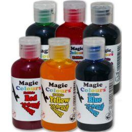 Magic Airbrush Colours Basic Set of 6 Bottles
