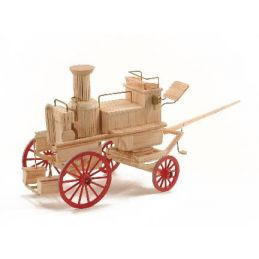 Match Craft Horse Drawn Fire Engine Matchstick Kit