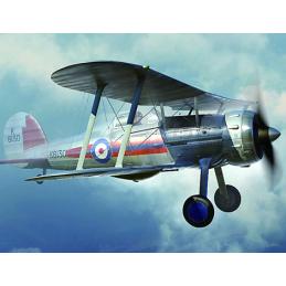 Gloster Gladiator MK.I Plastic Model Aircraft