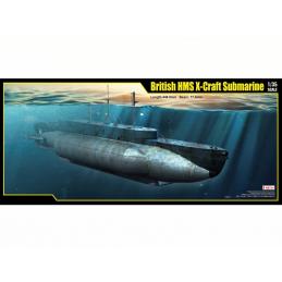British HMS X Craft Submarine 1:35 Scale Plastic Model Kit