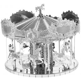 Metal Earth Merry Go Round 3D Laser Cut Model