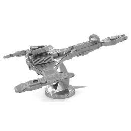 Metal Earth Star Trek Klingon Vor'cha Class 3D Metal Model Kit