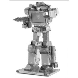 Metal Earth Transformers Soundwave 3D Metal Model Kit