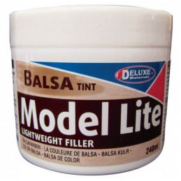 Deluxe Materials Model Lite Filler Balsa Tint