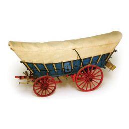 Model Trailways Conestoga Wagon 1:12 Scale Model Kit