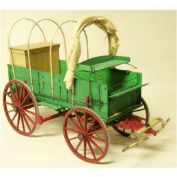 Model Trailways Cowboy Chuck Wagon 1:12 Scale Model Kit