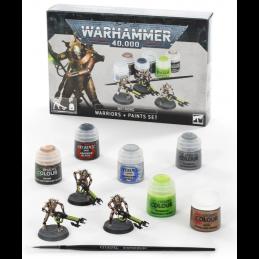 Warhammer Necrons: Warriors + Paints Set
