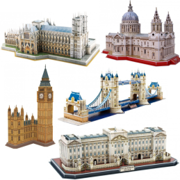 National Geographic London 3D Puzzle Deal