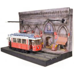 Occre Istanbul Tram Diorama Kit