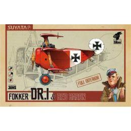 Fokker Dr I & Red Baron Plastic Model Kit