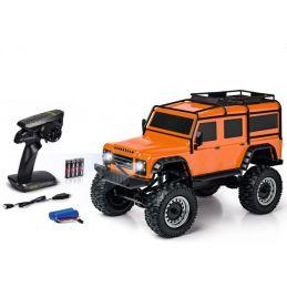 Carson 4WD Land Rover Defender Rock Crawler RTR Orange