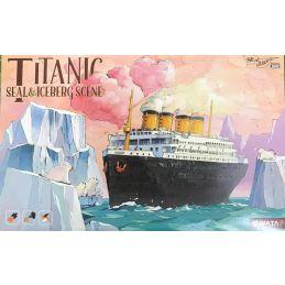 Titanic - Seals & Iceberg Scene Plastic Model Kit