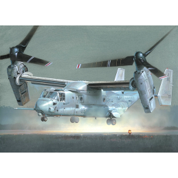 Italeri 2622 Bell-Boeing V-22 Osprey Tiltrotor Aircraft 1:48 Scale Detailed Plastic Model Kit