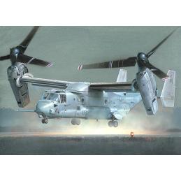 Italeri 2622 Bell-Boeing V-22 Osprey Tiltrotor Aircraft 1:48 Scale Detailed Plastic Model Kit - Starter Paint Pack 5 x 17ml Pots