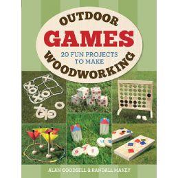 Outdoor Woodworking Games Book