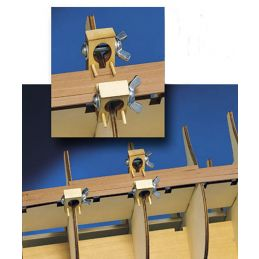 Model Ship Hull Planking Clamps - Set of 6 MX104